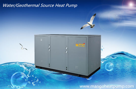 Ground Water Source Sea Water Source Heat Pump for Heating/Hot Water