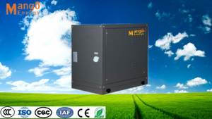 Ground Heating System High Efficiency Used Geothermal Source Heat Pumps for Sale