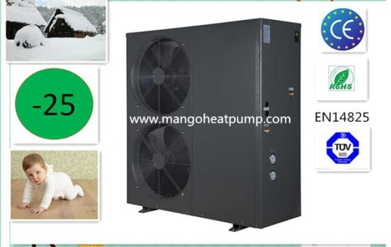 The European Floor Heating or Water Heating Special Unit Evi Air to Water Air Source Heat Pump