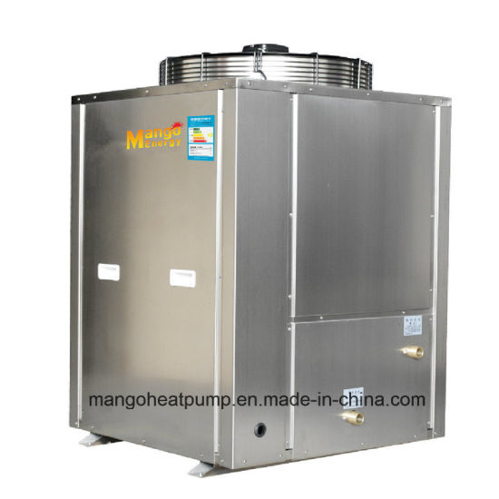 18.8kw Heating Capacity Commercial Use Heat Pump 55-60 Degree with Ss304 Cabinet