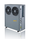 Normal Air to Water Heating System Monobloc Air Source DC Inverter Heat Pump