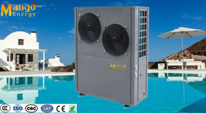 Heating/Cooling Water Source Heat Pump with High Heating Capacity