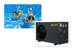 Swimming Pool Automatic Air Source Heater Pump Machine for Water Heating Equipment to Keep Warm
