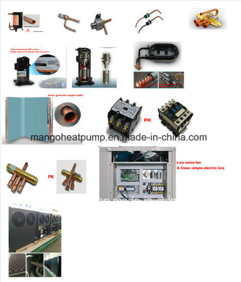 Water Source Heat Pump Outlet Water Temperature 55-60 Degree Working Mode Is Heating