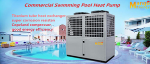 Compact 380V/50Hz 40kw Heat Pump Water Heater for Swimming Pool/SPA (CE, ISI9001)