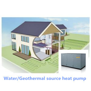 Commercial Water to Water Heat Pump with Plate Heat Exchanger
