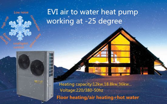 High Efficiency Evi Meeting Heat Pumps/Air Source Heat Pump