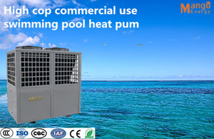 OEM Energy Saving ABS Plastic Commercial Swimming Pool Heat Pump