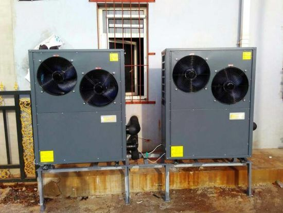 High Cop and Low Noise Ait to Water Swimming Pool Heat Pump