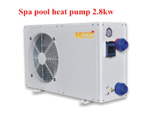 R410A Refrigerant and Rotary Compressor House Use SPA Pool Air to Water Heat Pump