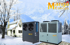 Air to Water/ Air Source Heat Pump Hot Water System Low Noise High Cop