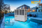 High Cop, Low Noise Swimming Pool Heat Pump Commerical/House Type