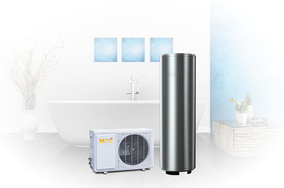 200~300L Air Source Hot Water Heat Pump for Shower and Kitchen