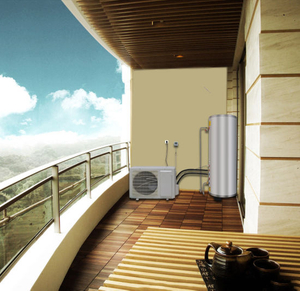 New Brand Type 3.5kw Heating Capacity Air to Water Heat Pump