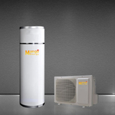 High-Efficient Air Source Heat Pump Water Heater with Plastic Cover