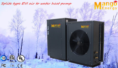 Super Cop3.81 OEM Sales 11.8kw Evi Air Source Heat Pump