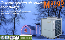 High Efficiency Evi Cascade System Heat Pump Water Heater 26.46kw Heating Capacity