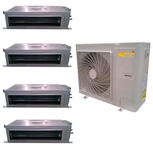 Air Cooled Modular Central Heat Pump Air Conditioner