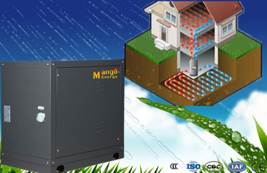 High Cop R407tc Cooling and Heating Water/Geothermal Source Heat Pump