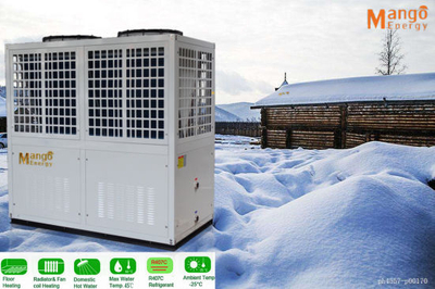 Work at -25DC Evi Air to Water Heat Pump Water Heater