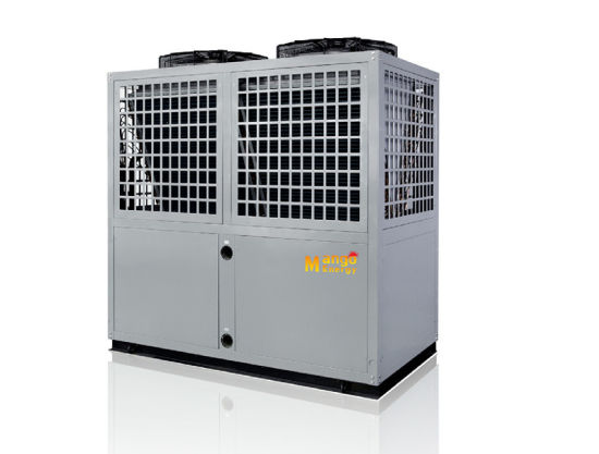 with 220V-240V/50Hz /60Hz Mango Energy High Temperature Air to Water Heat Pump 80 Degree