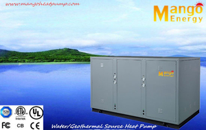 Multifunctional Water/Geothermal Source Heat Pump Heating and Cooling (high COP, stability and reliability)