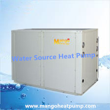 R407c 10.4 Kw Heating Capacity House Use Water Source Heat Pump